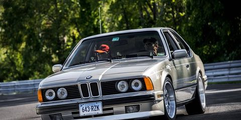 One of several dozen 6-series BMWs we saw last year at Lime Rock Sunday in the Park.