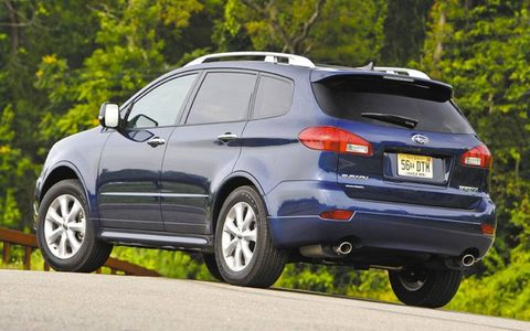 From the looks and feel of this tester, it is clear Subaru got the message and is now just playing out the string until the Tribeca ends production after the 2013 model year. - Executive Editor Bob Gritzinger