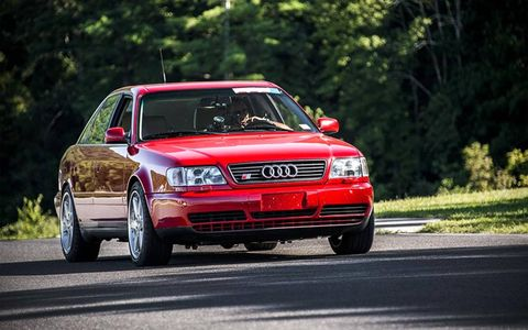 Remember when the Audi S4 looked like this?