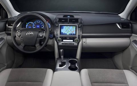 A look inside the all-new 2012 Toyota Camry Hybrid