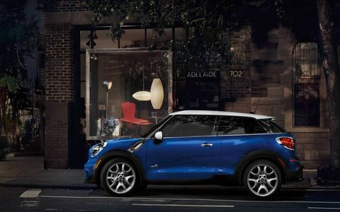 Performance in the  2013 Mini Cooper S Paceman All4 comes a price -- consuming plenty of fuel in the process.