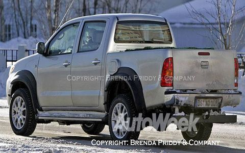 SPIED: A mule of Volkswagen's compact pickup. It may be headed to the U.S. market.