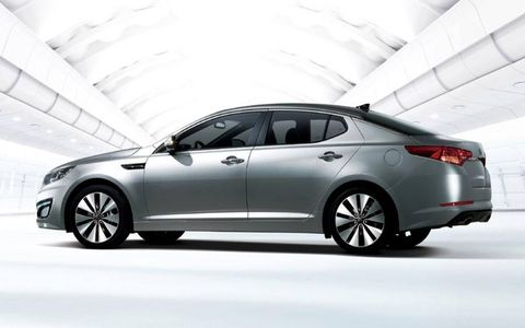 An AW Flash Drive Gallery: 2011 Kia Optima