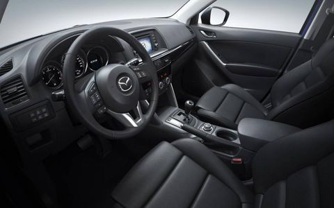A look inside the 2013 Mazda CX-5