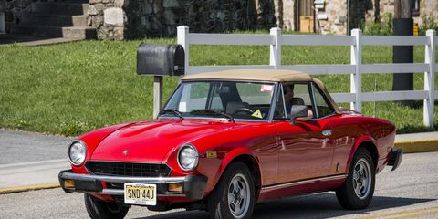 The Fiat 2000 was spun off from the Fiat 124 Spider, which entered production in 1966 and was designed by Pininfarina