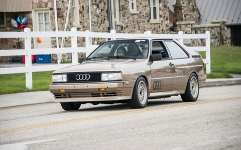 The field at Carlisle typically sees close to 100 Audis.