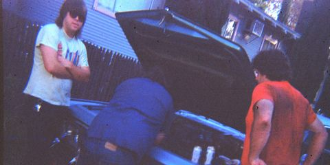 Lots of beer and T-shirts equipped with belly-scratchin' holes were involved in Imperial maintenance.