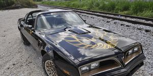 Now wearing a 1977 nose for the second time in its life, this 1976 Pontiac Trans Am is back in the spotlight.