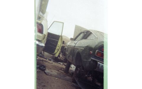 In the middle 1980s, California junkyards were full of worn-out Datsun B210 fastbacks like this one.