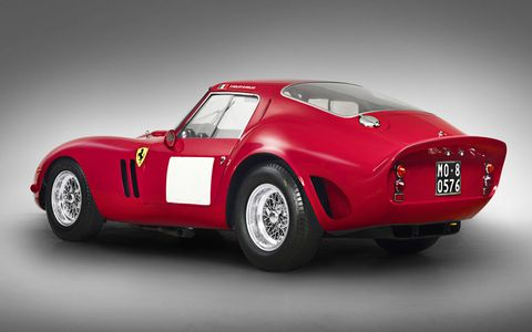 There's no reserve on this 1962-63 Ferrari 250 GTO.
