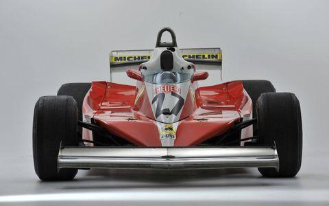 This 1978 Ferrari T3 raced in Formula 1.