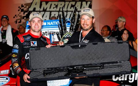 To the victor goes the rifle at Atlanta.