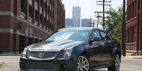 2010 Cadillac CTS-V Sedan
