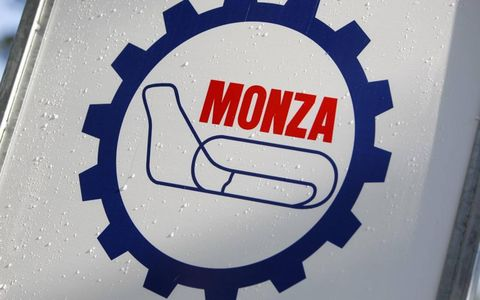 The Monza logo, without the chicanes.