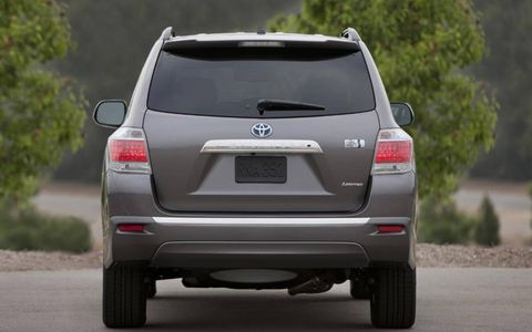 The 2013 Toyota Highlander Hybrid Limited comes at a base price of $47,215, with our tester reaching $49,722.
