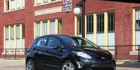 Driver's Log Gallery: 2011 Ford Fiesta SES