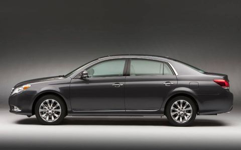 Driver's Log Gallery: 2011 Toyota Avalon Limited