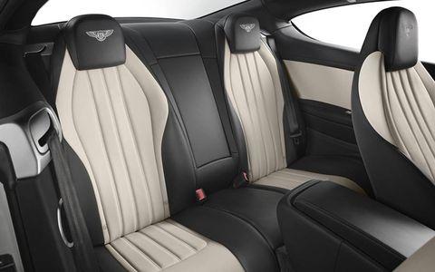 The sporty interior gets a few V8 S trim details.