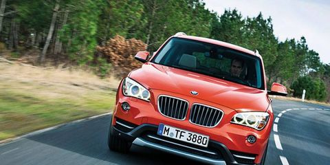 The X1 has been on sale in Europe since 2009, but the company waited for this mid-cycle refresh to bring its small SUV to the U.S. market.