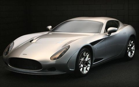 Italian design house Zagato has hooked up with South African automaker Perana Performance Group to create the Perana Z-One car.Here are the basics: Tube-frame chassis, plastic body panels and a General Motors-sourced 6.2-liter V8 powering a ZF six-speed manual. Curb weight is just a bit more than 2,600 pounds. Perana says 62 mph comes up in less than 4 seconds.Perana will build up to 999 copies a year. The car is set to go on sale in Europe this summer, with a base price around $63,000.