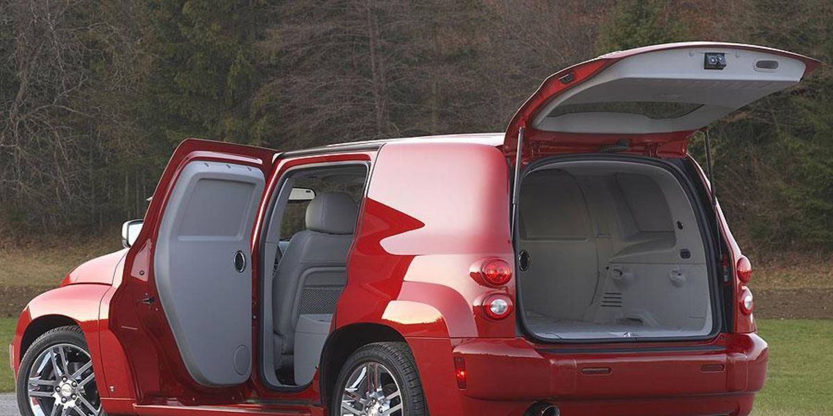 Chevrolet Hhr Panel Lt Is Versatile A Short Stint Review