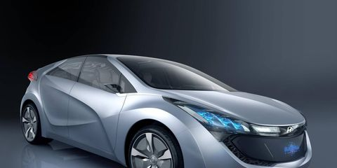 The Hyundai Blue-Will concept
