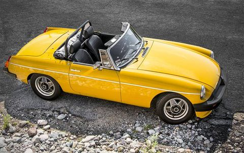 Paul Seeberg has spent several years bringing this 1980 MGB back.