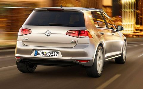 VW designers gave the new Golf a longer wheelbase and wider track.