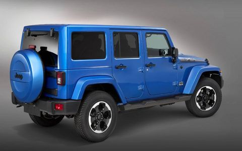 For now, the Jeep Wrangler Polar Express will only be sold in Europe.
