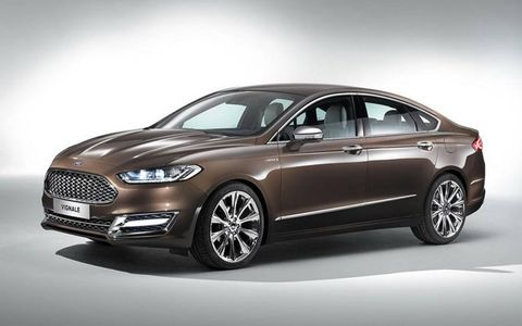 The Vignale version of the Mondeo will hit European dealerships a year and a half from now.