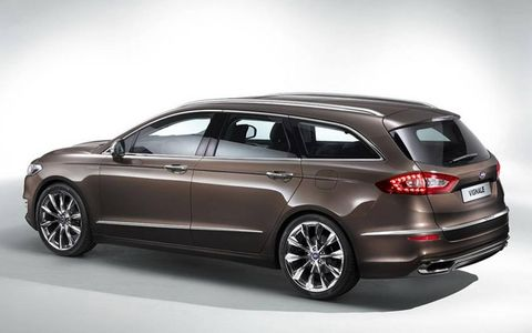 The Vignale will be available in estate form as well.