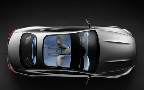 The Mercedes-Benz Concept coupe is set to be unveiled at the Frankfurt motor show.