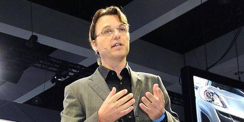 Laurens van den Acker is the new head of design for Renault.