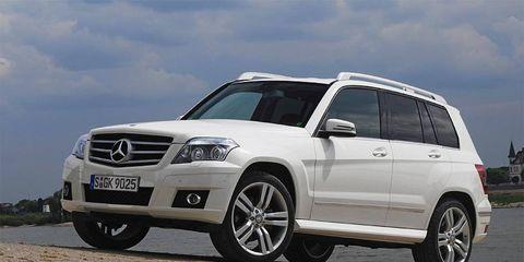 The Mercedes-Benz GLK