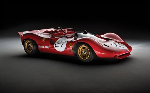 The 1967 Ferrari 330 P4 with chassis No. 0858.