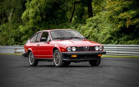 One of several GTV6s we saw at Lime Rock this year.