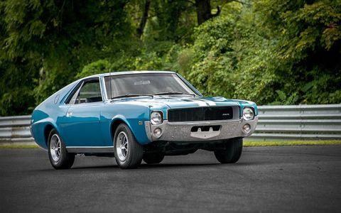 Some rare cars AMC were also present.