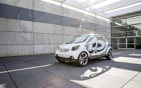 The Smart Fourjoy set to debut at the Frankfurt motor show.