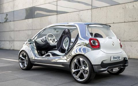 The Smart Fourjoy will join the U.S. market in 2015.