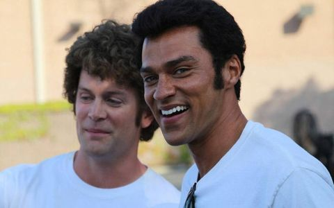 Richard Blake plays McEwen and Jesse Williams plays Prudhomme in Snake & Mongoo$e.