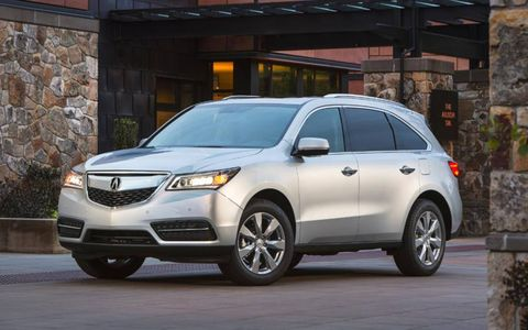 The 2014 Acura MDX SH-AWD comes in at a base price of $57,400.