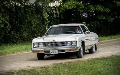These Caprice coupes have just about disappeared from our roads.
