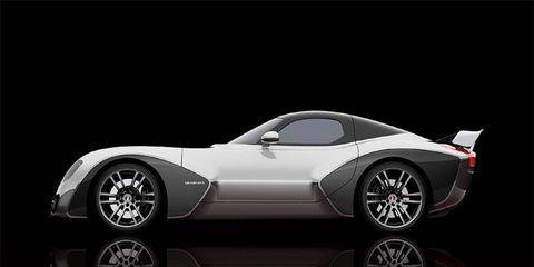 The Viper-based Devon GTX prototype is shown.