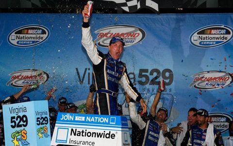 It was Kevin Harvick's night at Richmond on Friday.
