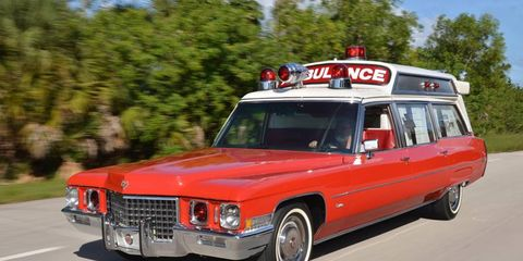 1971 S&S Medic 1 Cadillac Ambulance