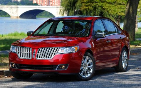 An AW Flash Drive Gallery: 2011 Lincoln MKZ Hybrid