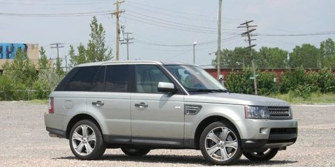 Driver's Log Gallery: 2010 Range Rover Sport Supercharged