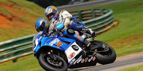 AMA American Superbike pro rider Chris Ulrich and <i>AutoWeek</i> motorsports correspondent Travis Braun took a hot lap around Virginia International Raceway.