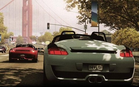 No Porsche because Electronic Arts owns the license, but German tuner RUF doesn't suffer the same fate