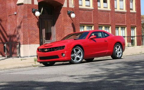 Driver's Log Gallery: 2010 Chevrolet Camaro SS